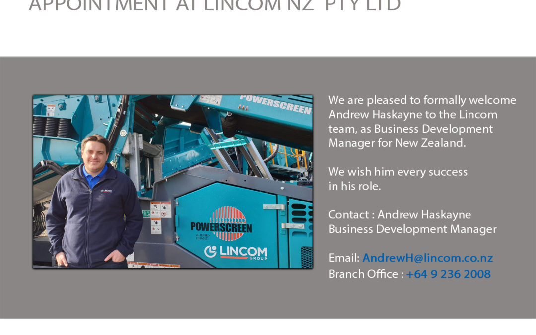 Business Development Manager for New Zealand