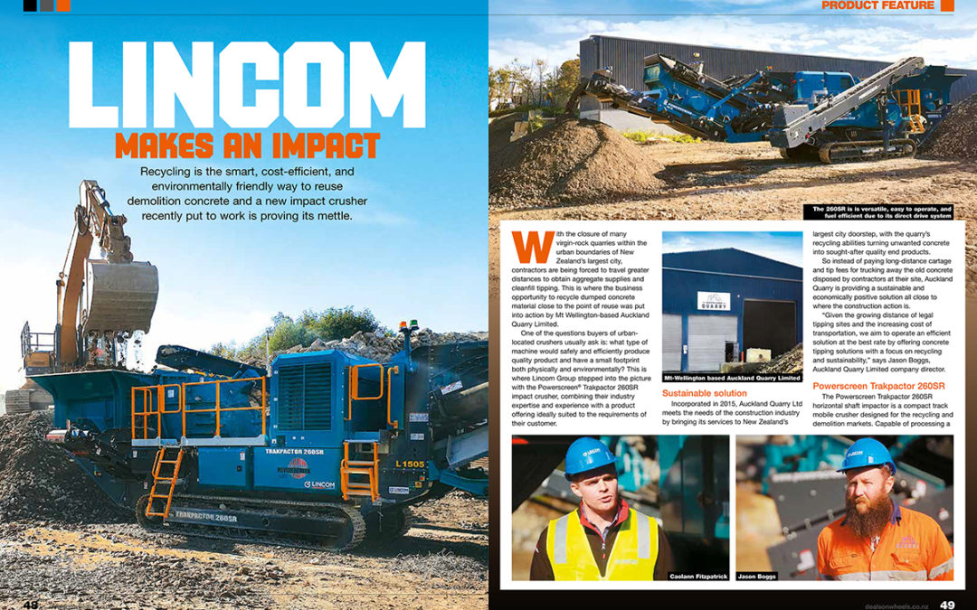 Featured article in Deals on Wheels magazine –  Issue July 2019